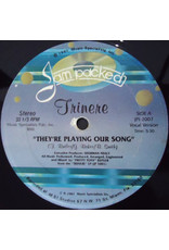 """(VINTAGE) Trinere - They're Playing Our Song 12"""" [Disc:VG+] (1987,US)"""
