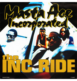 """(VINTAGE) Masta Ace Incorporated - The INC Ride 12"""" [Cover:VG,Disc:VG] (1995,US)"""