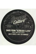"David Penn Feat. Sheylah Cuffy – Scream 4 Love (Micky More & Andy Tee Remixes) 12"""