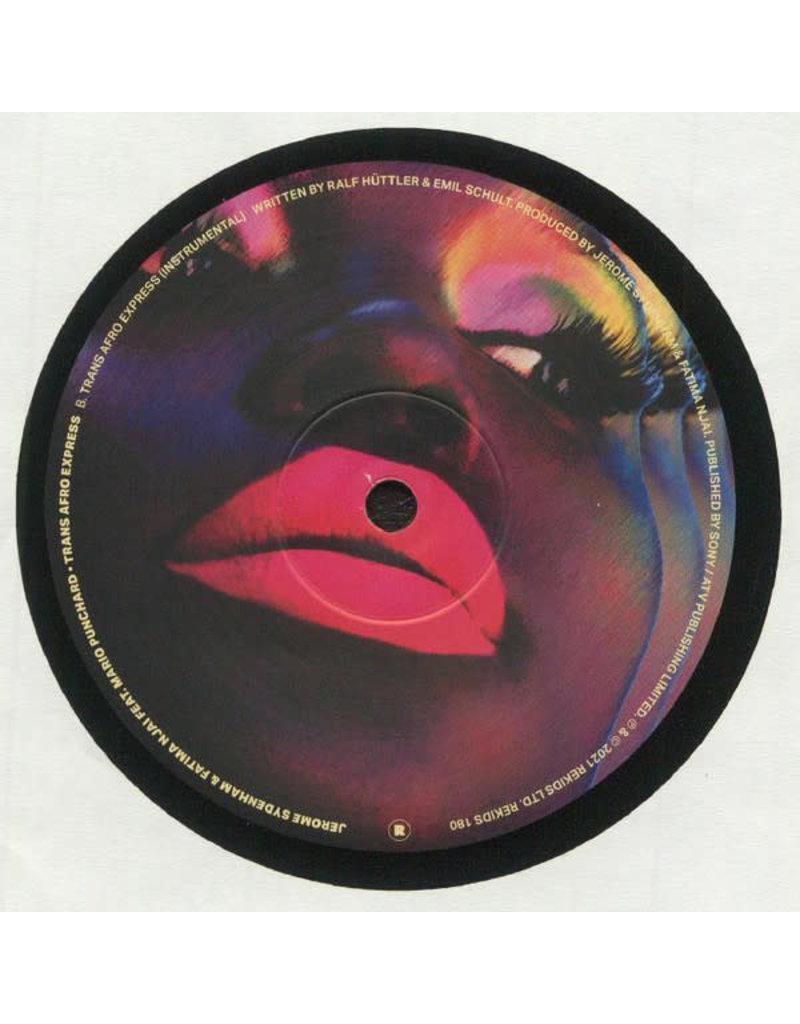 "Jerome Sydenham & Fatima Njai Feat. Mario Punchard – Trans Afro Express 12"""