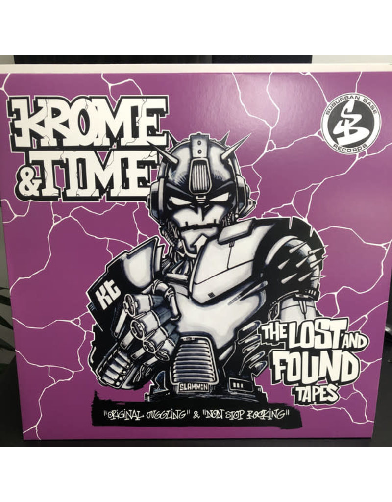 """Krome & Time – The Lost And Found Tapes 12"""""""