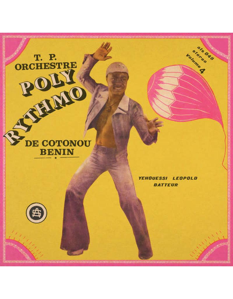 T.P. Orchestre Poly-Rythmo De Cotonou - Benin – Vol. 4 - Yehouessi Leopold Batteur LP