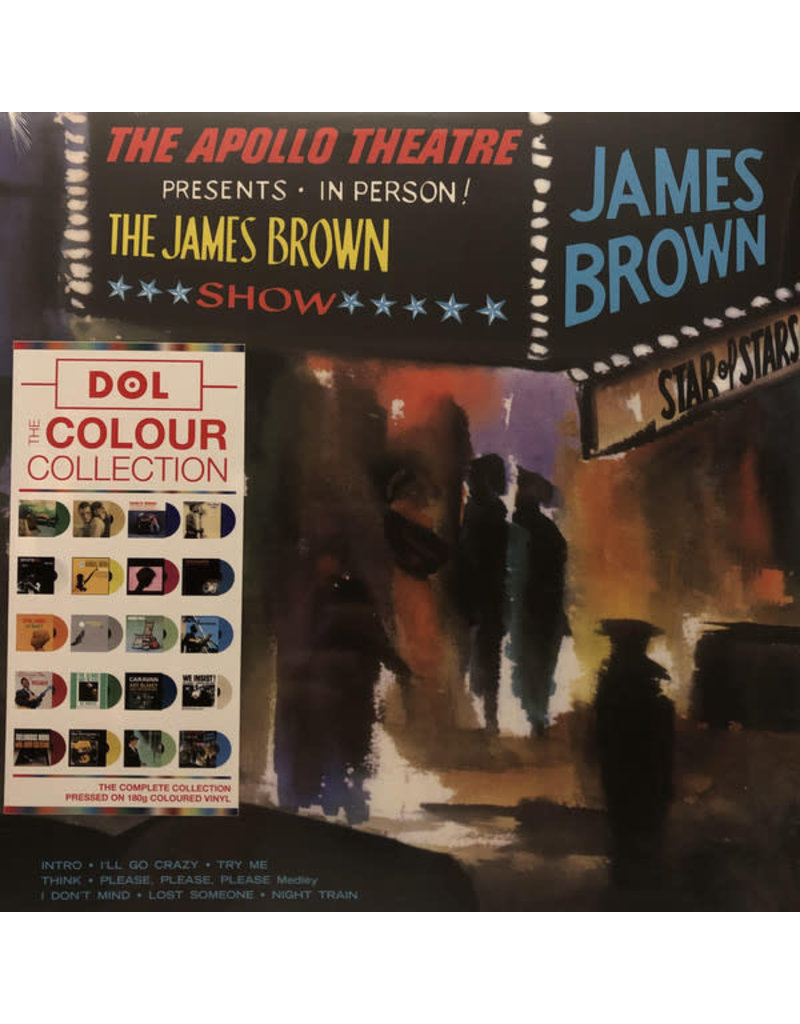 James Brown – Live At The Apollo (Blue Vinyl) LP