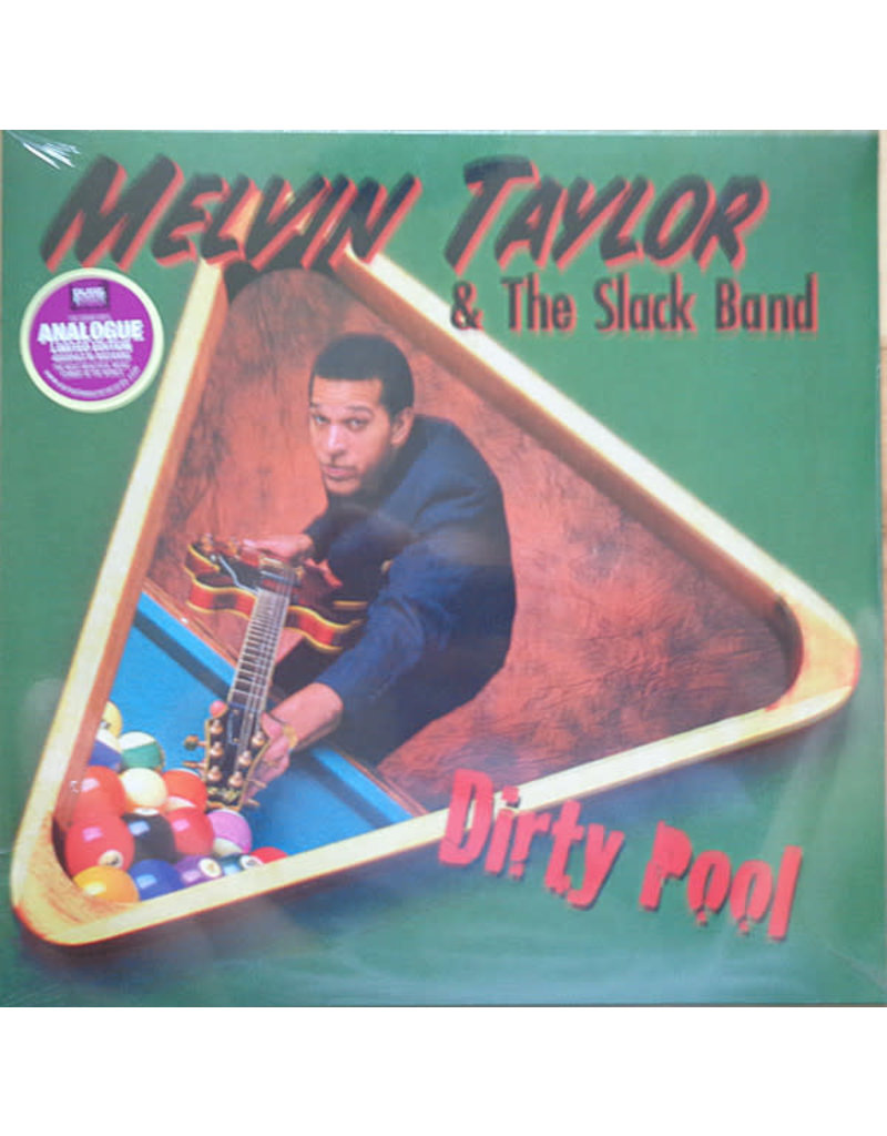Melvin Taylor & The Slack Band - Dirty Pool LP (2021 Reissue), 180g