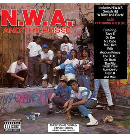 HH N.W.A. - N.W.A. And The Posse LP (Reissue)
