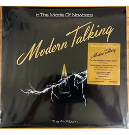 Modern Talking - In The Middle Of Nowhere LP (2021 Music On Vinyl Reissue), Gold and Black Marbled Vinyl, 180g