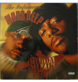 (VINTAGE) Mobb Deep - Murda Muzik 2LP [Cover:VG,Disc1&2:VG+] (1999,US), w/ Hype Sticker