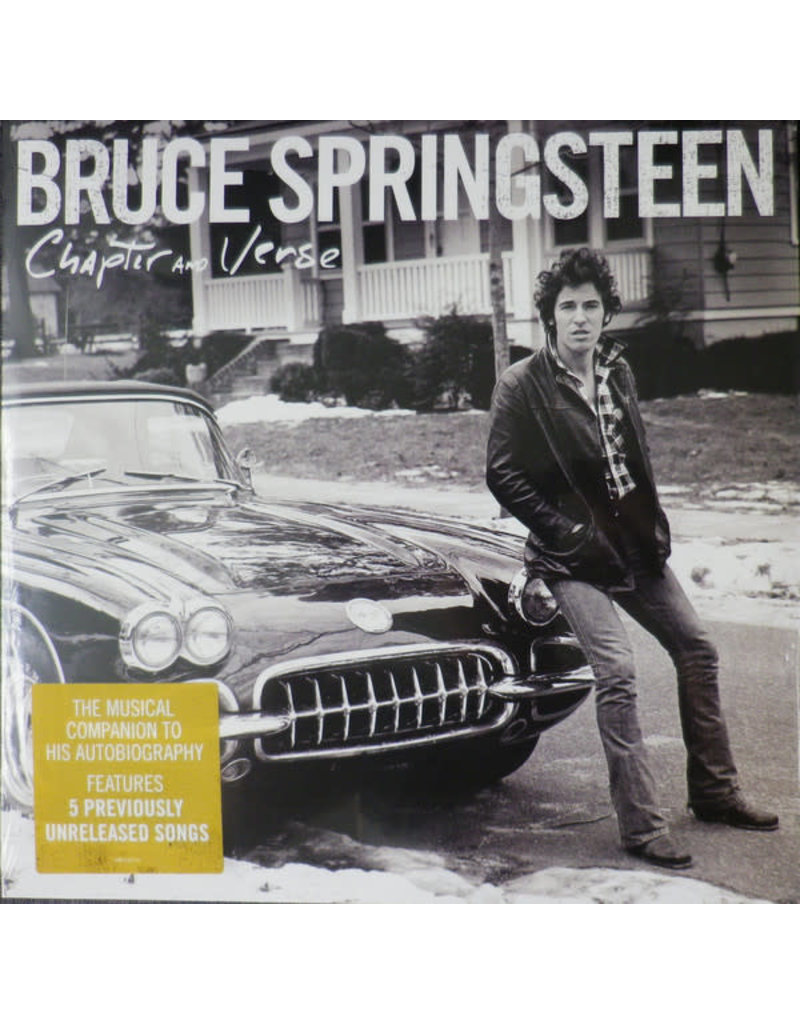 RK Bruce Springsteen - Chapter And Verse 2LP (2016 Compilation)