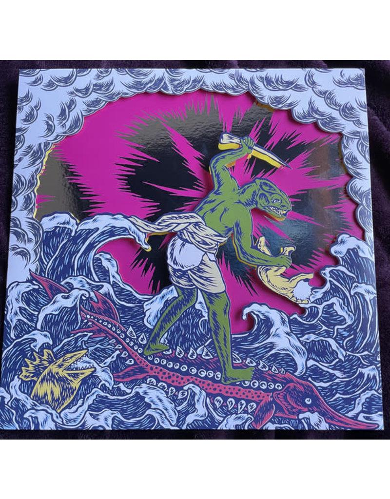 King Gizzard And The Lizard Wizard - Teenage Gizzard LP (2021 Compilation), Yellow & Magenta Vinyl