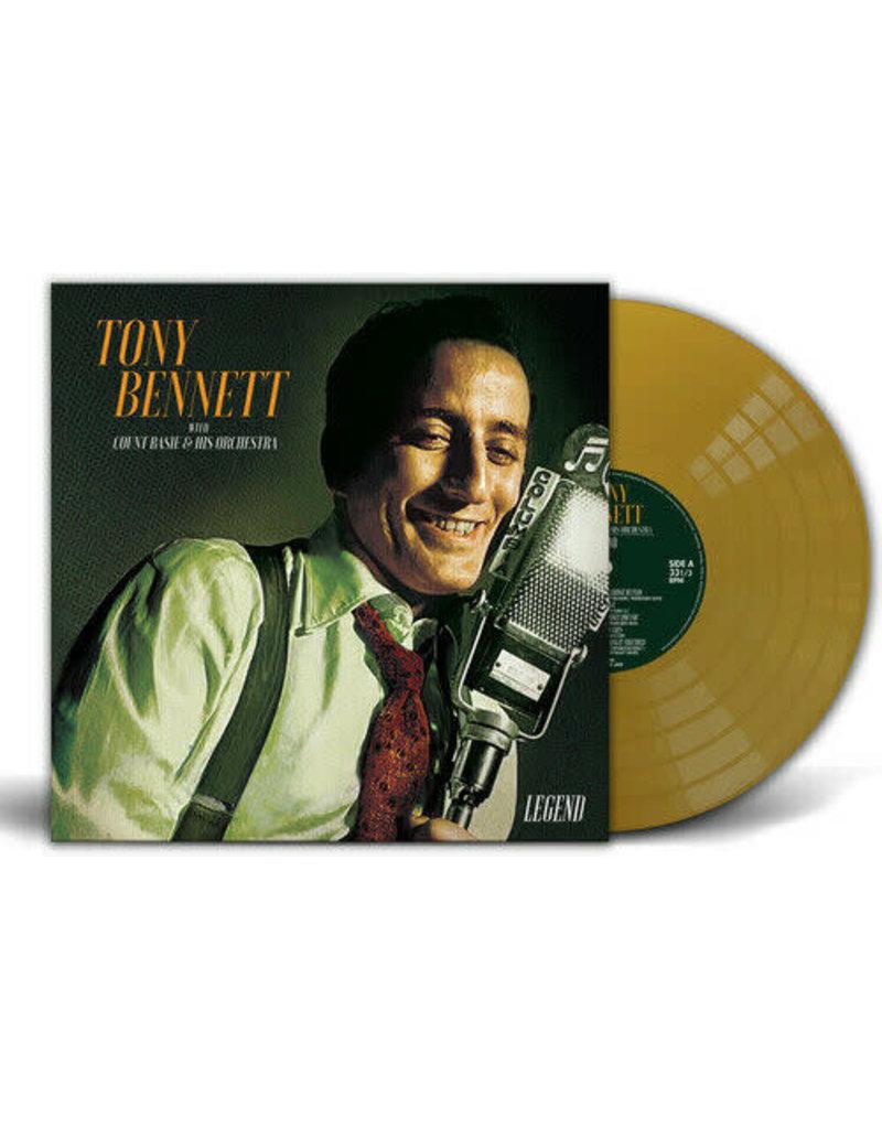 Tony Bennett - Legend LP (2021), Gold Vinyl, Limited
