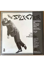 """The Selecter - Too Much Pressure LP+7"""" (2021 Reissue), 40th Anniversary, Limited Clear Vinyl, 180g"""