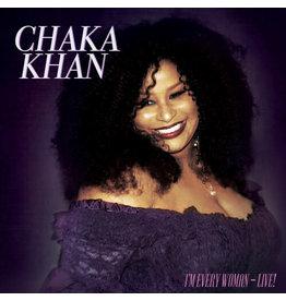 Chaka Khan - I'm Every Woman - Live! LP (2021), Gold Vinyl