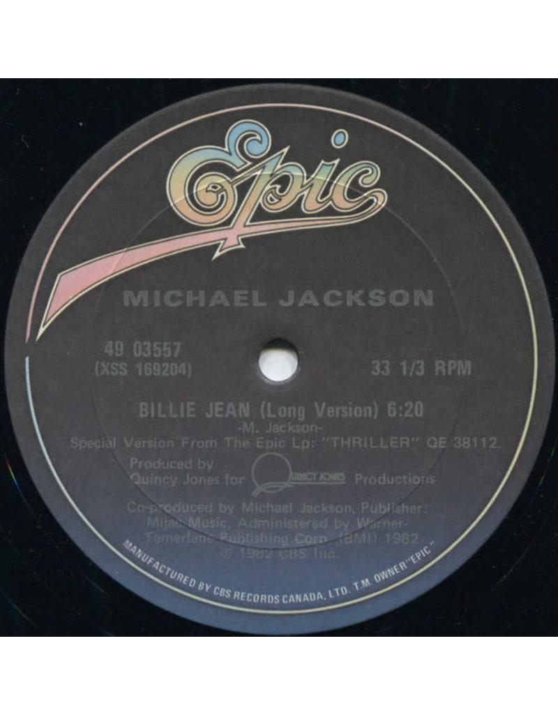 "(VINTAGE) Michael Jackson - Billie Jean 12"" [Disc:VG+] (1983,Canada)"