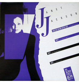 """(VINTAGE) Janet Jackson - What Have You Done For Me Lately / Nasty 12"""" [Cover:VG+,Disc:VG+] (1986,Canada)"""