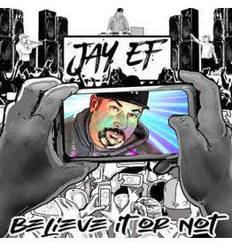 Jay-Ef - Believe It Or Not CD (2021), cardboard sleeve