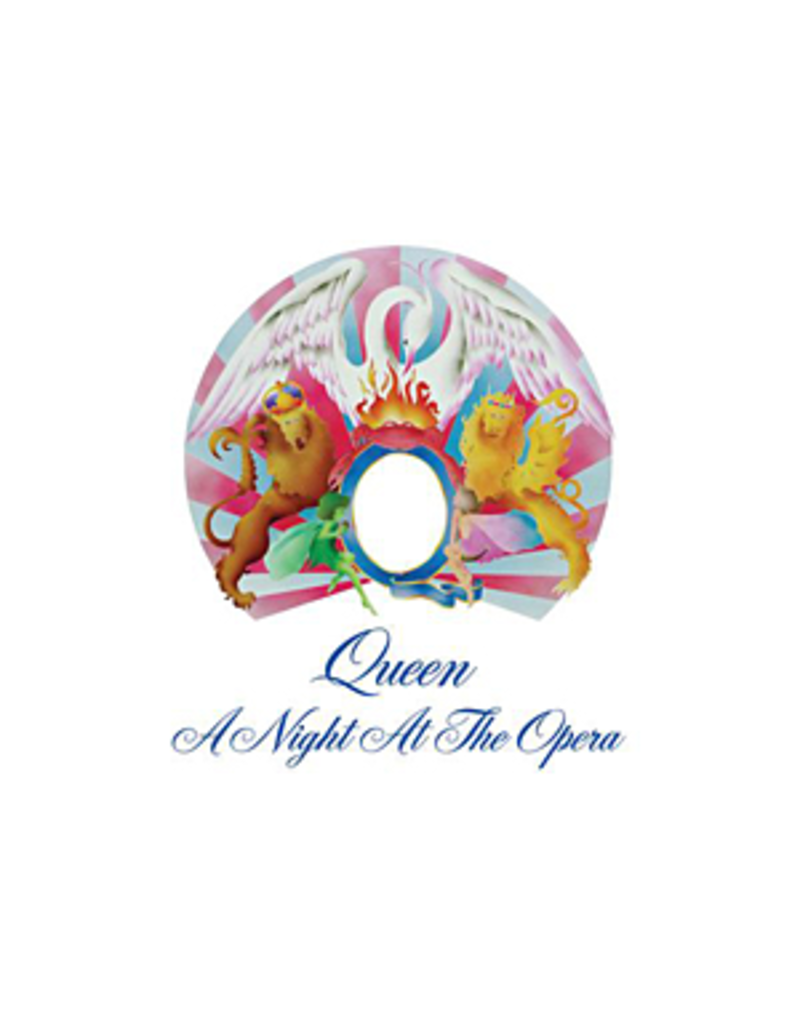 (VINTAGE) Queen - A Night At The Opera LP [Cover:VG+(slight writing),Disc:VG] (1975, Sweden)