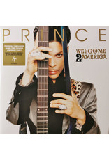 Prince - Welcome 2 America 2LP (2021), Single Sided, Etched
