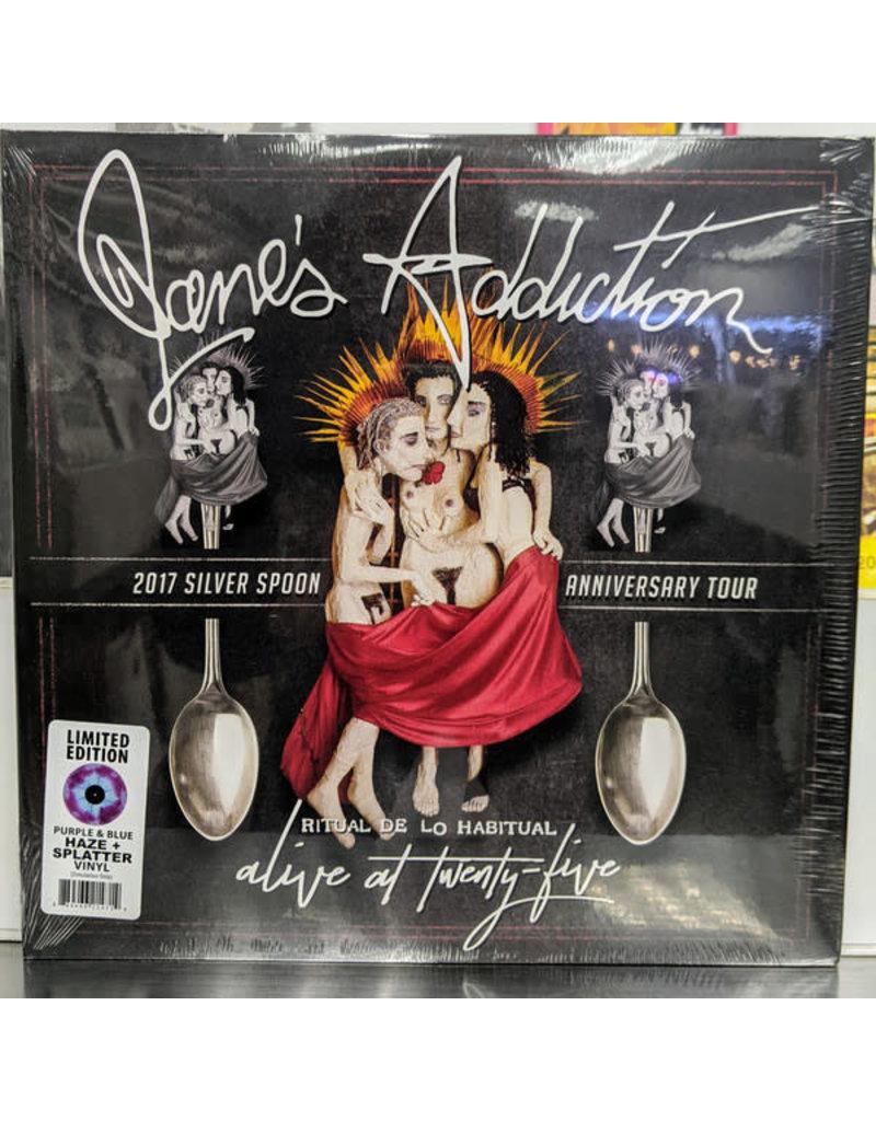 Jane's Addiction - Alive At Twenty-Five - Ritual De Lo Habitual 2LP (2021 Reissue), Purple & Blue Haze Splatter