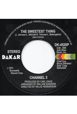 """Channel 3 – The Sweetest Thing / Someone Else's Arms 7"""""""