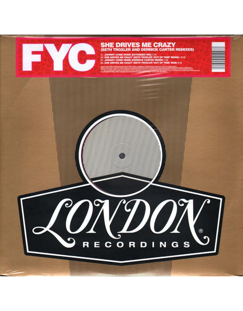 "Fine Young Cannibals – She Drives Me Crazy (Seth Troxler And Derrick Carter Remixes) 12"""