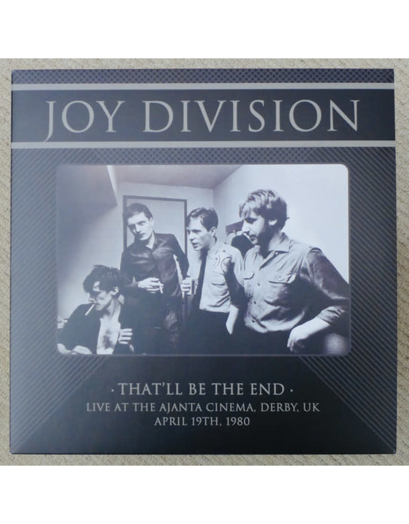 Joy Division - That'll Be The End (Live At The Ajanta Cinema, Derby, UK - April 19th, 1980)