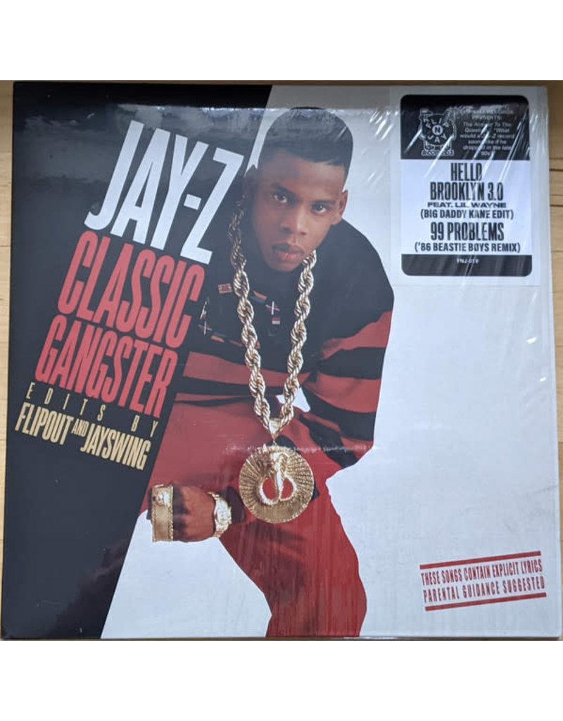 "Jay-Z Classic Gangster Edits By Flipout & Jay Swing - Hello Brooklyn 3.0 feat. Lil Wayne (Big Daddy Kane Edit)/99 Problems ('86 Beastie Boys Remix) 7"" (2021)"