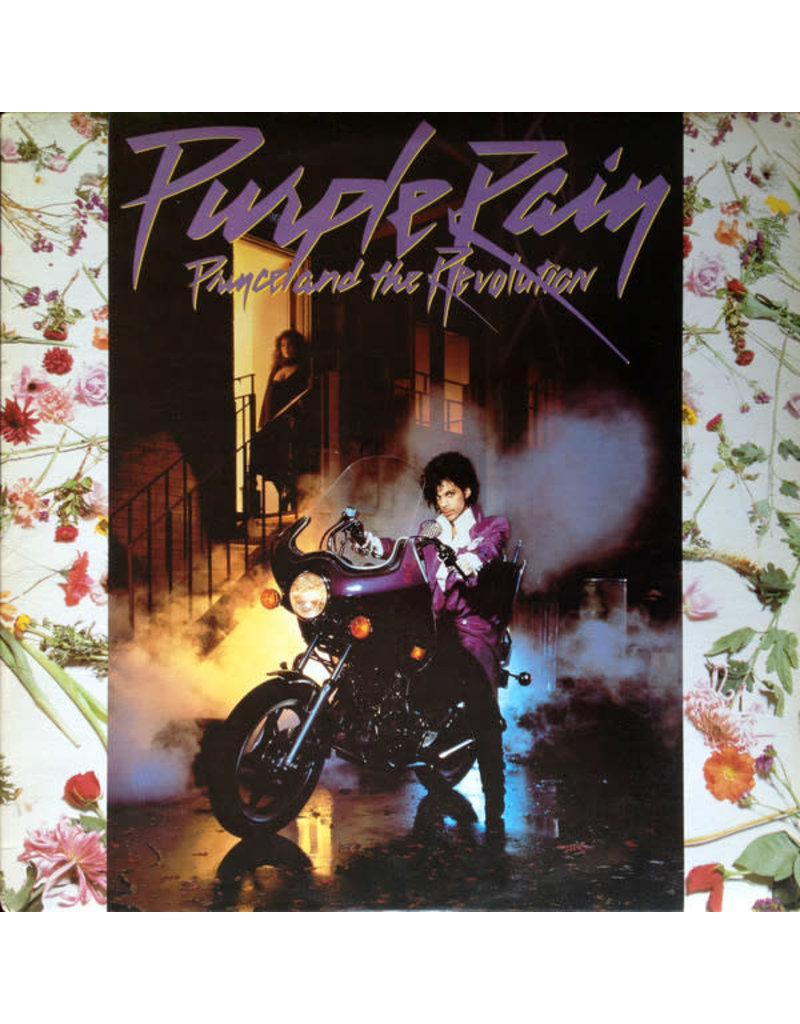 (VINTAGE)Prince And The Revolution - Purple Rain LP [Cover:VG+,Disc:VG,InnerSleeve:VG] (1984,Canada)