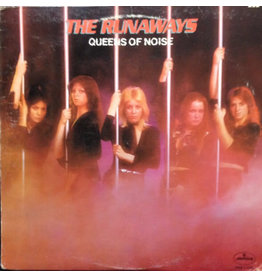 (VINTAGE) The Runaways - Queens Of Noise LP [Cover:VG+,InnerSleeve:VG+,Disc:VG+](1977,Canada)