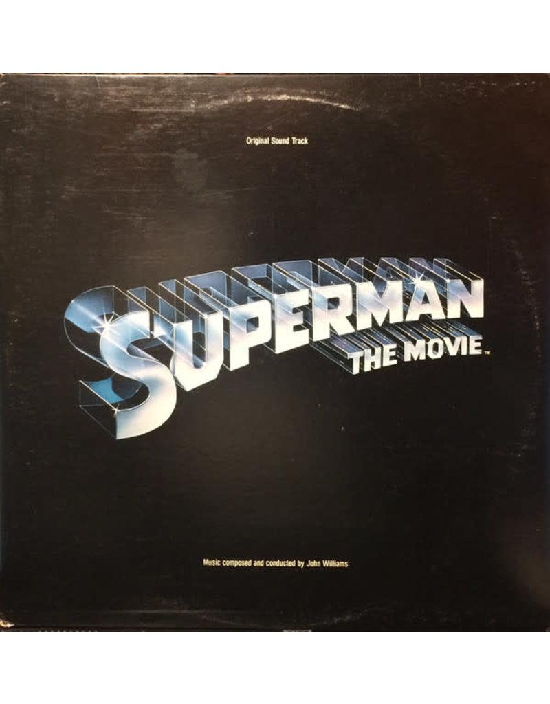 (VINTAGE) John Williams - Superman The Movie OST [Cover:VG,Disc:VG,InnerSleeve:VG](1978,Canada)
