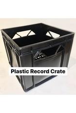 PLASTIC RECORD CRATES