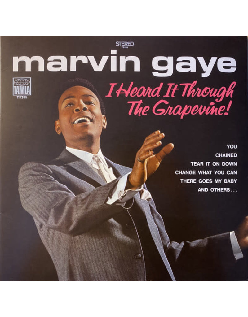 Marvin Gaye Heard It Through The Grapevine! LP (Reissue)