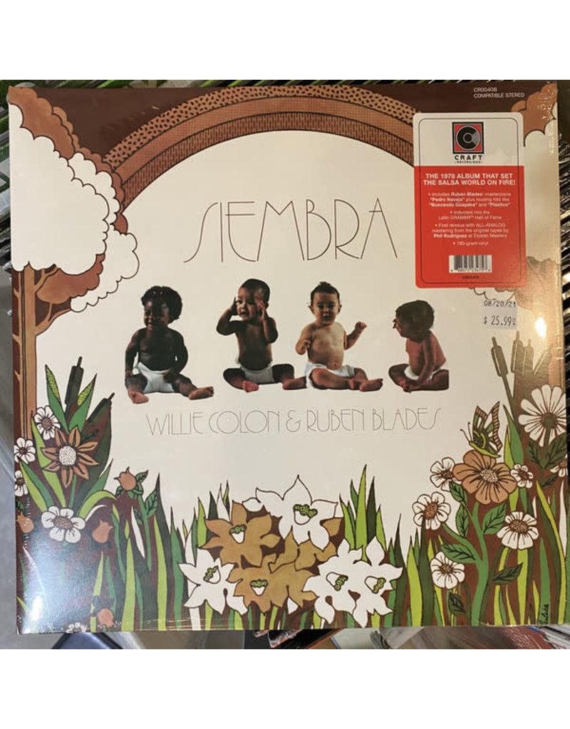 Willie Colon & Ruben Blades - Siembra LP (2021 Craft Recordings Reissue), 180g