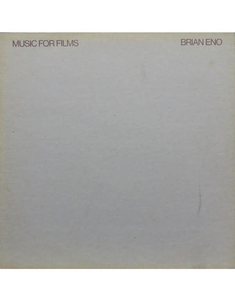 (VINTAGE) Brian Eno - Music For Films LP [Cover:G+,Disc:G+] (1978,UK)