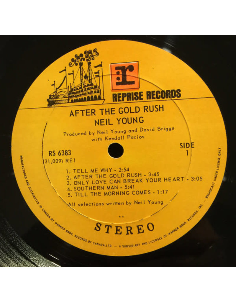 (VINTAGE) Neil Young - After The Gold Rush LP [Cover:VG,Disc:VG](1970,Canada), RCA Pressing, Gatefold