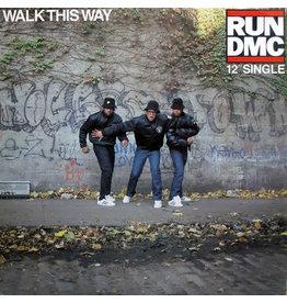 "(VINTAGE) Run-DMC - Walk This Way 12"" [CoverVG,Disc:VG](1986,Canada)"