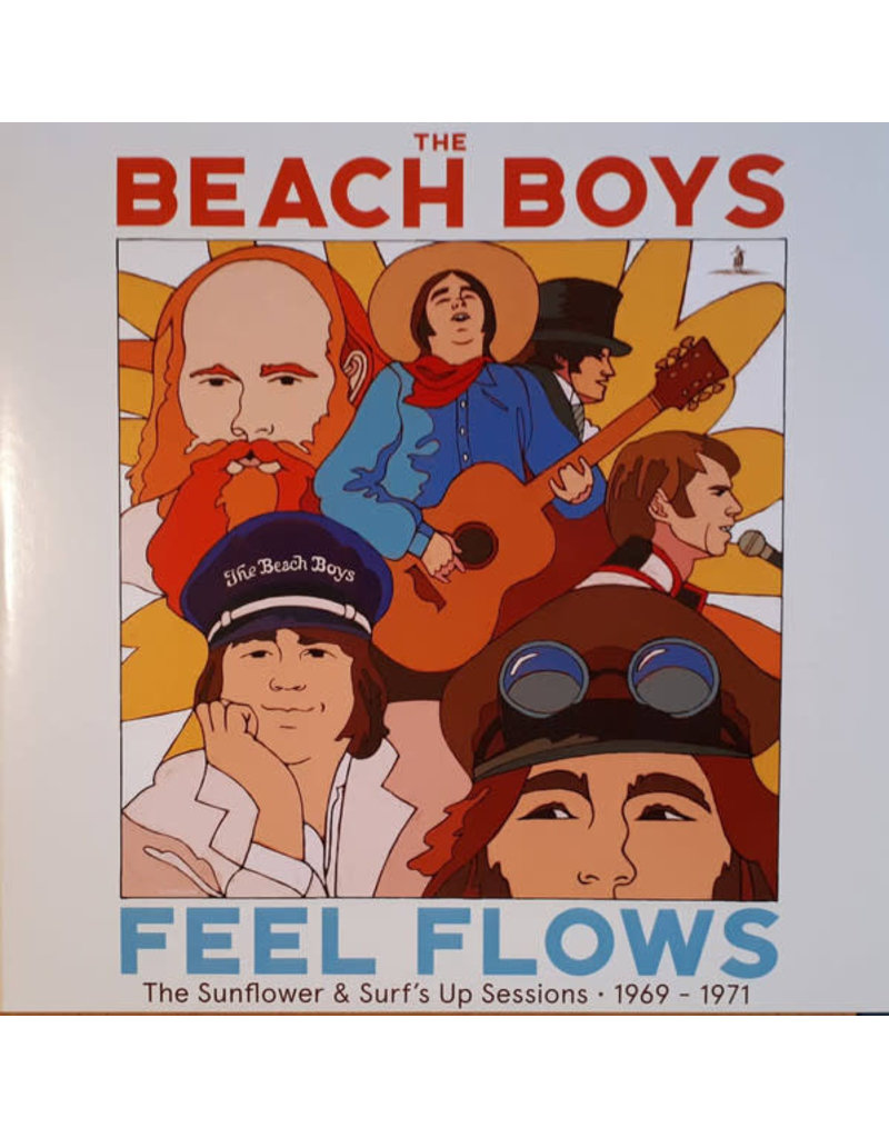 The Beach Boys - Feel Flows (The Sunflower & Surf's Up Sessions • 1969 - 1971) 2LP (2021 Reissue)