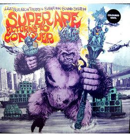 Lee Scratch Perry + Subatomic Sound System - Super Ape Returns To Conquer LP (2021 Reissue), Purple Vinyl