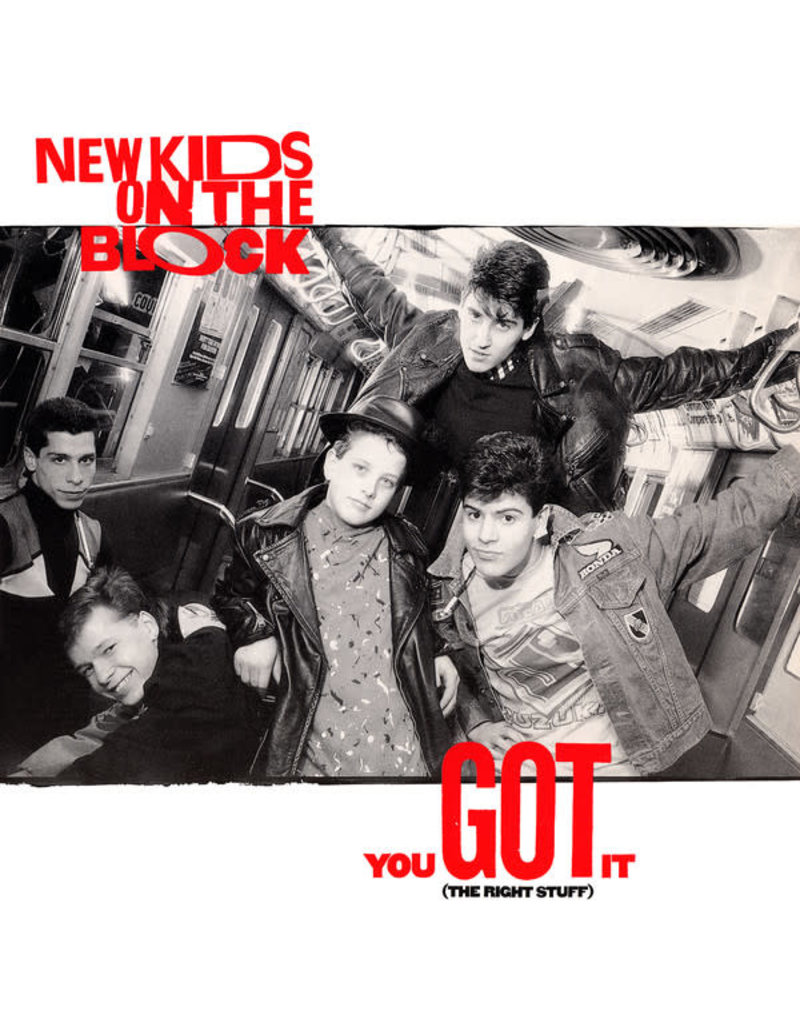 """(VINTAGE) New Kids On The Block - You Got It (The Right Stuff) 12"""" [Cover:NM,Disc:VG+](1988,US)"""