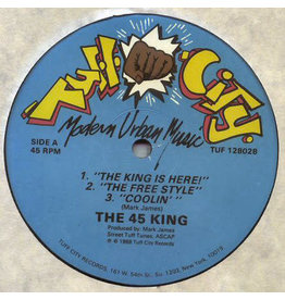 """(VINTAGE) The 45 King - The King Is Here! 12"""" [Cover:VG+,Disc:VG+](1988,US)"""