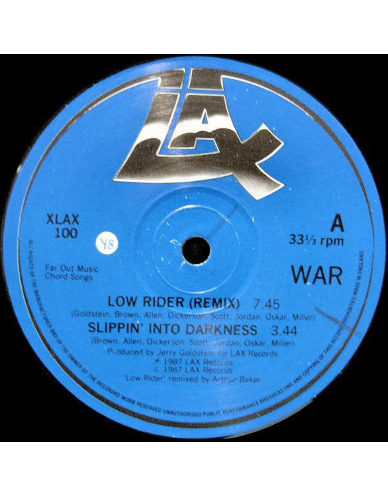 """(VINTAGE) War - Low Rider (Remix) 12"""" [Disc:VG+] (1987,UK)"""