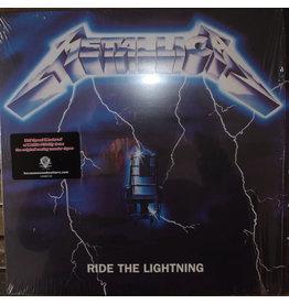 (VINTAGE) Metallica - Ride The Lightning LP [MINT w/ bent conrner] (2008,US)