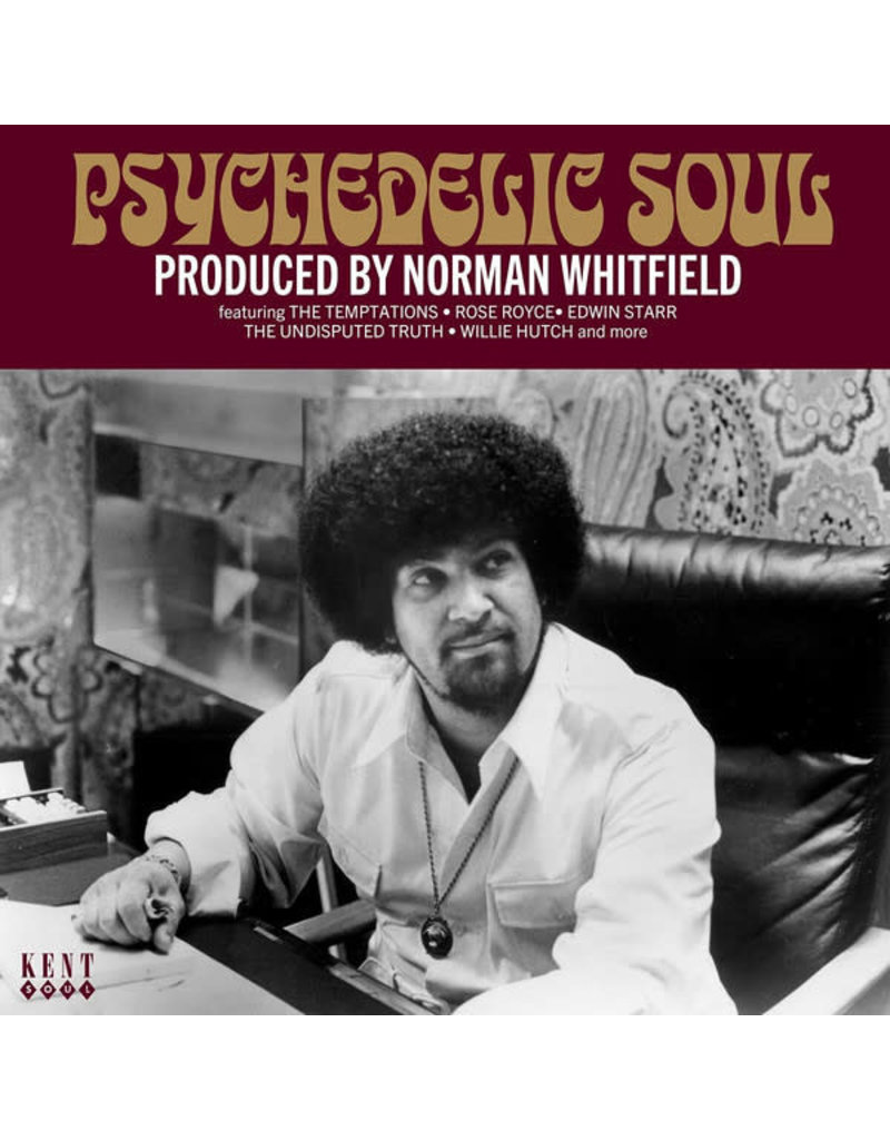 Norman Whitfield - Psychedelic Soul (Produced By Norman Whitfield) CD