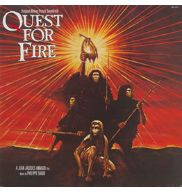 (VINTAGE) Philippe Sarde - Quest For Fire OST LP [Cover:VG,Disc:VG+] (1982, Canada)