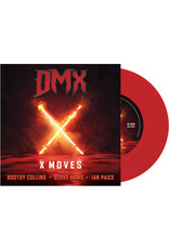 """Dmx / Bootsy Collins / Howe,Steve / Paice,Ian - X Moves 7"""" [RSD2021 July], Red Vinyl"""