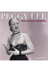 Peggy Lee - World Broadcast Recordings 1955, Vol 1 LP [RSD2021 July], Limited 1500, Transaprent Pink Vinyl