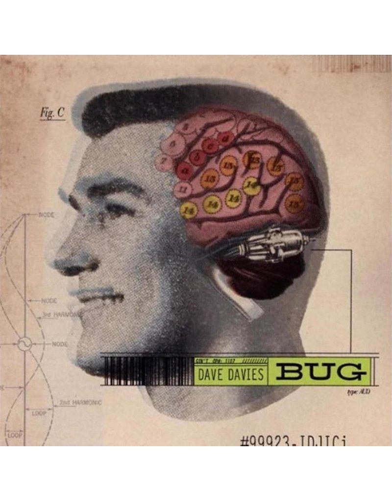 Dave Davies - Bug 2LP [RSD2021 July], Pink/Yellow, 180g