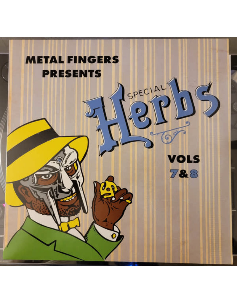 Metal Fingers - Special Herbs Vols 7&8 2LP (2021 Reissue)