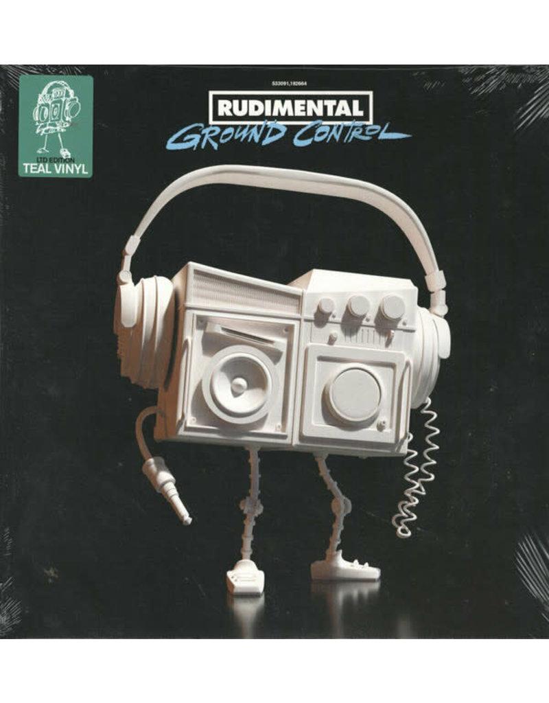 Rudimental - Ground Control 2LP (2021), Teal translucent