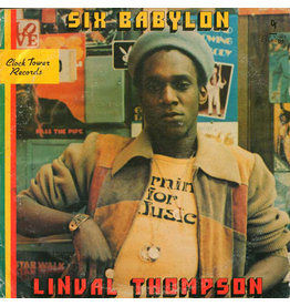 RG Linval Thompson - Six Babylon LP