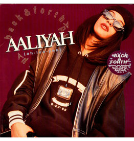 "(VINTAGE) Aaliyah - Back & Forth 12"" [Cover:VG+,Disc:VG+] (1994,US)"